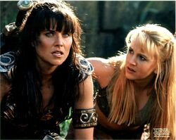 Xena and Gabrielle Past