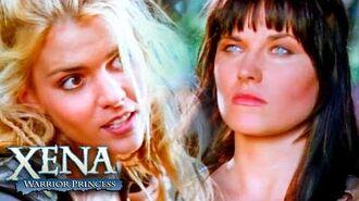 Callisto Kidnaps Gabrielle Xena VS Callisto Xena Warrior Princess