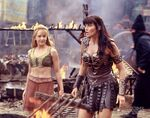 Hope and Xena