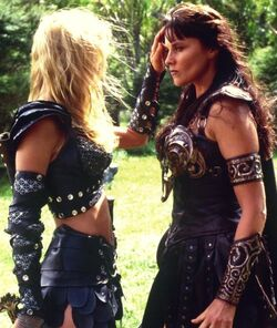 Xena and Callisto Sacrifice I
