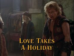 Love Takes Holiday Title