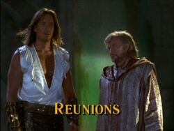 Reunions Title Card