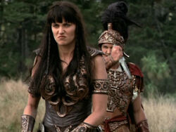 Xena kills Pompey
