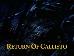 Return of Callisto TITLE