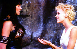 Callisto offer Xena ides