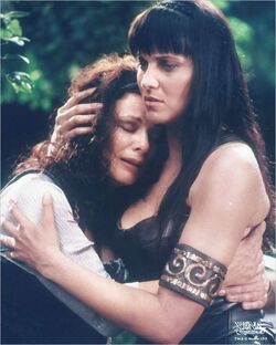Cyrene and Xena Furies