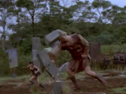 Xena vs Goliath, The Giant Killer
