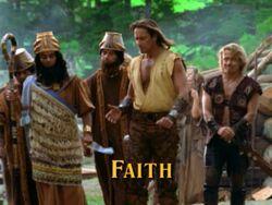 Faith title card