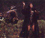 Xena performing the ritual, Adventures in the Sin Trade Part 1
