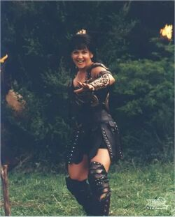 Gab as Xena Greater