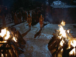 Xena and Gabby Funeral