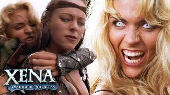 Velasca and Callisto's Battle Xena Warrior Princess
