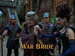 War Bride Title Card