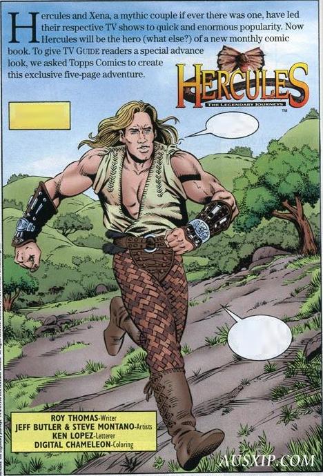 Hercules & Xena: The Comic Book Begins | Legendary Journeys
