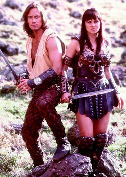Prometheus hercules and xena
