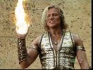 Apollo with fireball in younh hercules