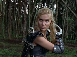 Xena in Callisto's body