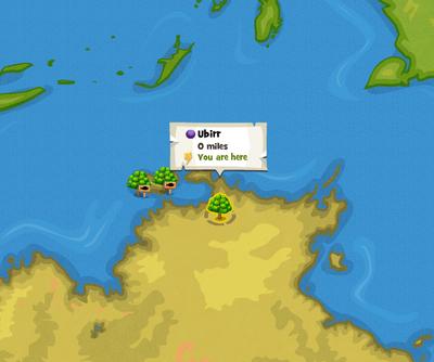 Ubirr location