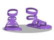 Lavender Sandals