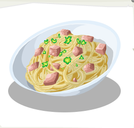 Spaghetti Carbonara Here Be Monsters Wiki Fandom Powered By Wikia