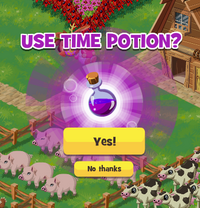 Time potion yesno