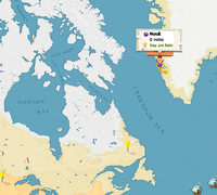 Nuuk location map