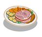 Roast Ham Dinner