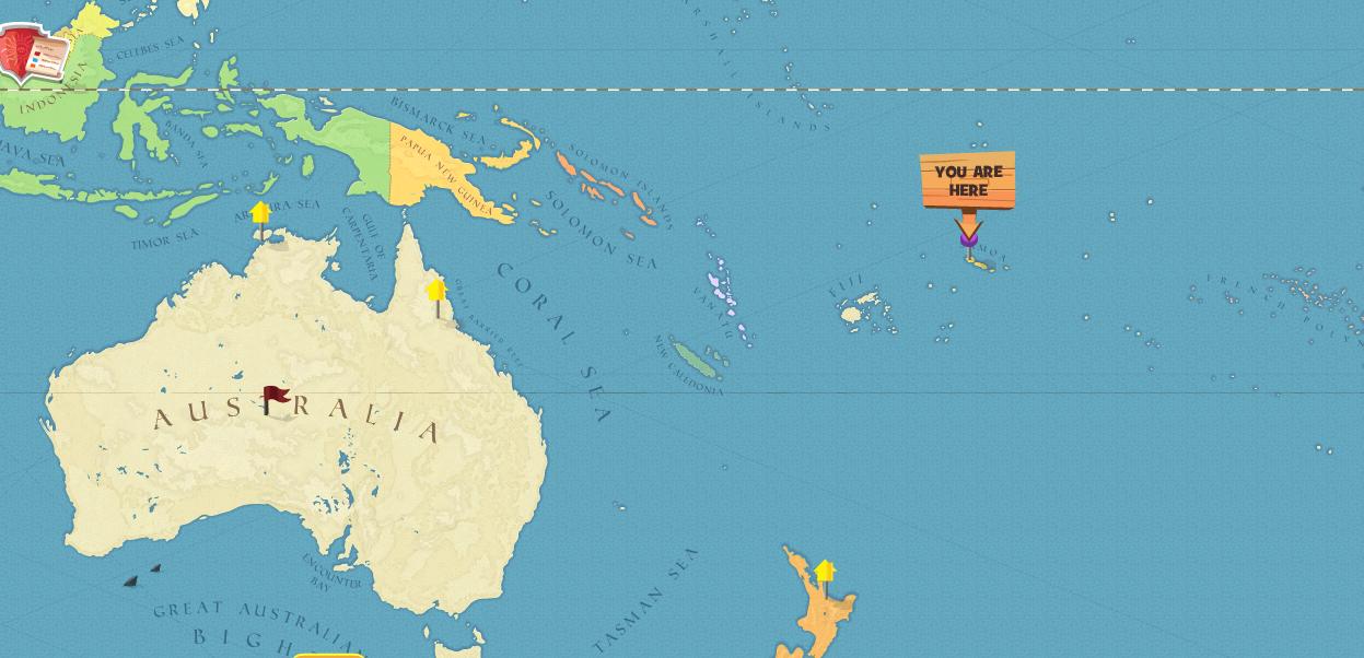 Image Samoa World Mappng Here Be Monsters Wiki FANDOM - Samoa map