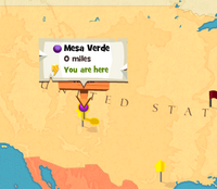 Mesa Verde worldmap
