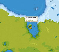 Akimiski Island location