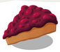 Loganberry Cake