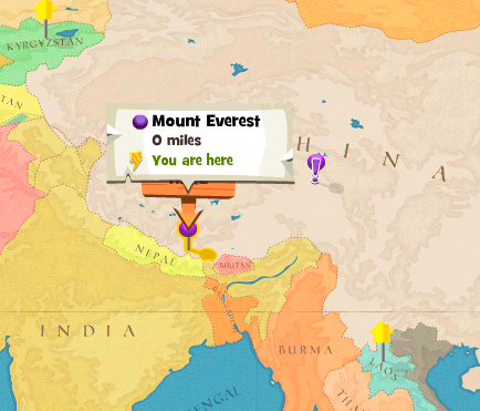 Image Mount Everest worldmappng Here Be Monsters Wiki FANDOM