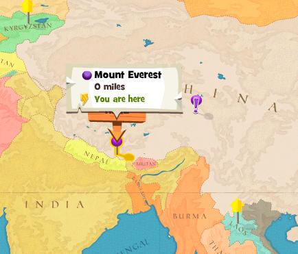 Image - Mount Everest worldmap.png | Here Be Monsters Wiki | FANDOM ...