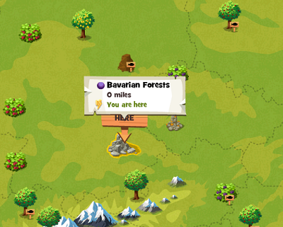 Bavarian Forests Local Map - Updated