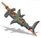 Shark on a Stick