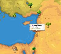 Sea of Galilee location