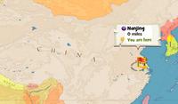 Nanjing map.