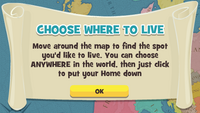 Choose where to live