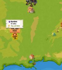 Gurdon map