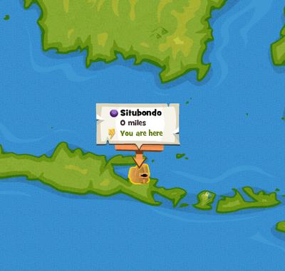 Situbondo map location
