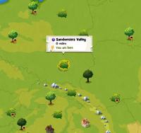 Sandomierz Valley location