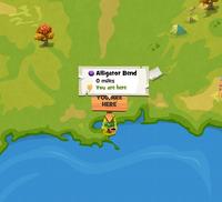 Alligator Bend Local Map - Updated