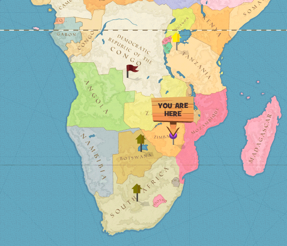 Image - Great Zimbabwe world.png | Here Be Monsters Wiki | FANDOM ...