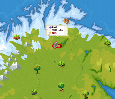 LOCAL MAP OF INARI oct 7 2013