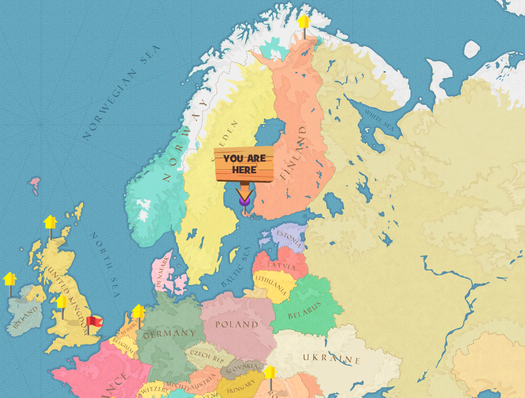 Image Aland Islands world mappng Here Be Monsters Wiki FANDOM