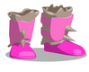 Orchid Barbarian Boots