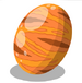 Giant Orange Egg