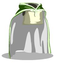 Plain cape