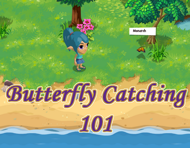 Butterfly-catching
