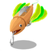 Green Feather Lure